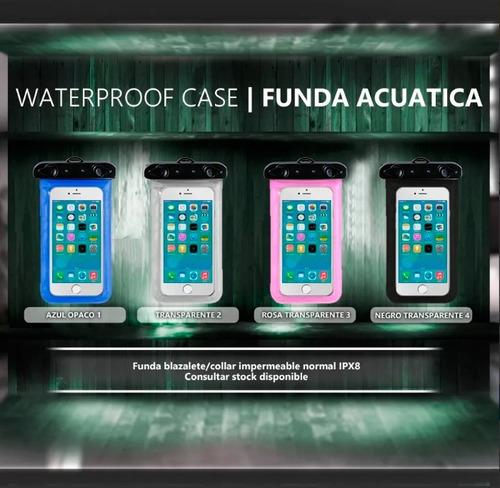 funda p/ sacar fotos bajo el agua impermeable celular wat2