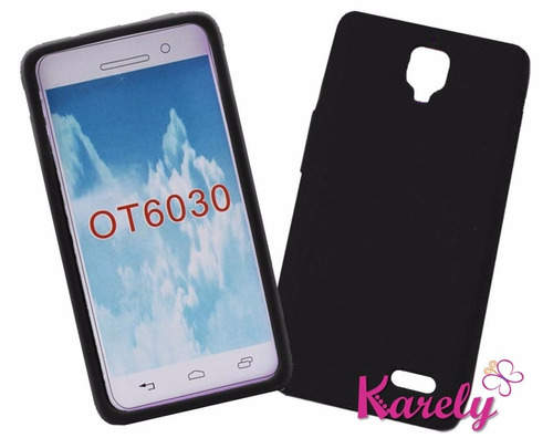 funda para alcatel ot 6030 silicon suave flexible