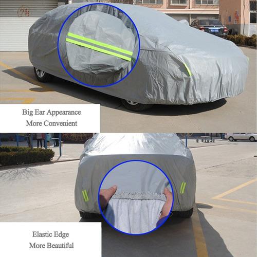 funda para auto material pe pvc anti-polvo sunproof