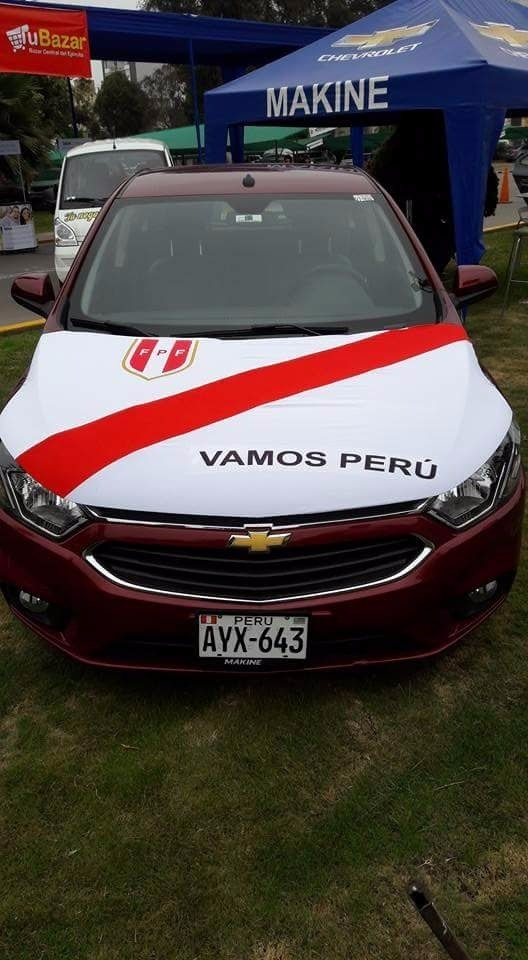 Funda capot para autos de peru rusia 2018 camiseta peruana s 80 00 en mercado libre - Fundas para auto ...