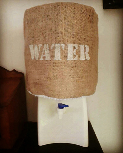 funda para bidón de agua
