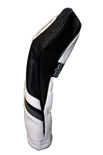 7e927249ae323 Funda Para Cabeza De Palo De Golf Color Blanco Y Negro Pie ...