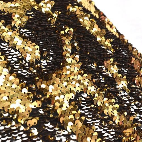 funda para cojin shine gold dorado lentejuelas vianney
