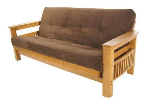 funda para colchon de futon chenille 3 cuerpos 1.90 x 1.40 n