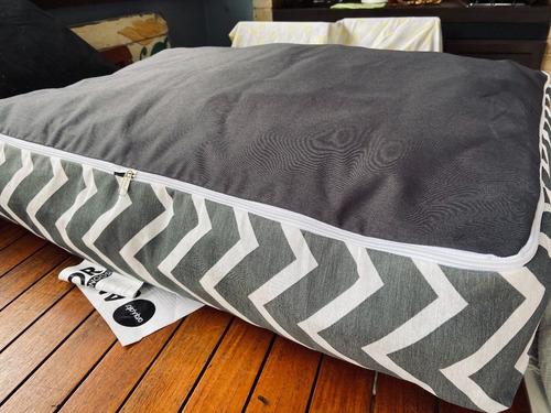 funda para colchón rectangular antiolor grande (75x100)cm
