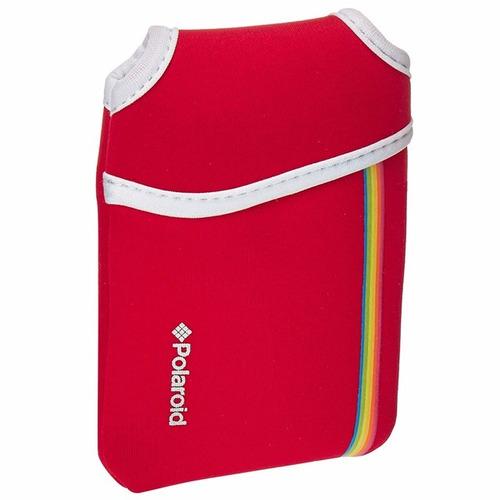 funda para impresora instantanea polaroid zip red