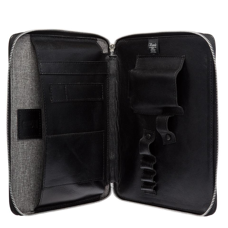 62d76d597d1 Funda Para iPad De Piel Carpeta Con Cierre De Piel - $ 1,199.00 en ...
