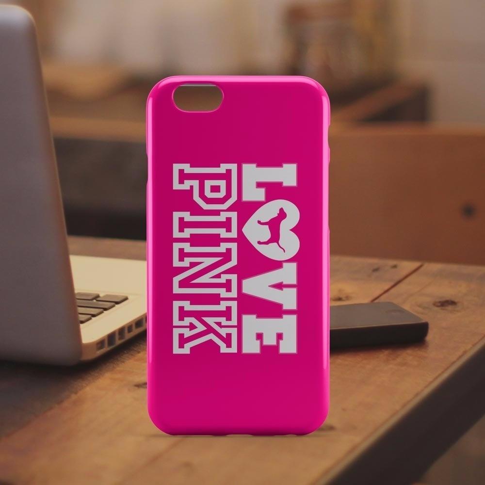 e851690d4e9 funda para iphone 5 / 6 victoria's secret pink 100% original. Cargando zoom.