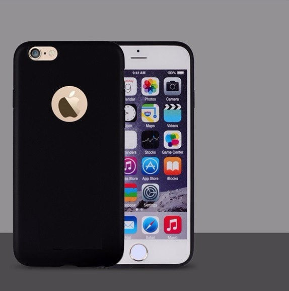 97cd8693468 Funda Para iPhone 6 Color Negro De Tpu - $ 126.00 en Mercado Libre