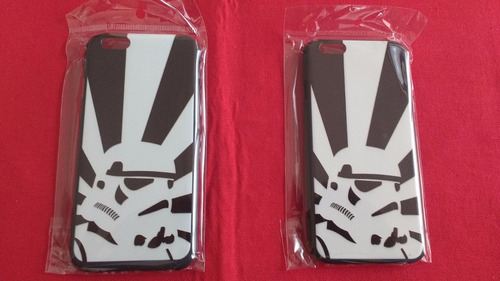 funda para iphone 6 diseño stormtrooper star wars