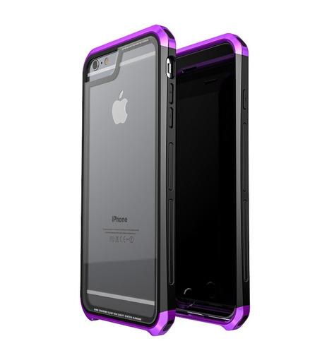 funda para iphone 6 plus / 6s plus  hdx  cristal templado