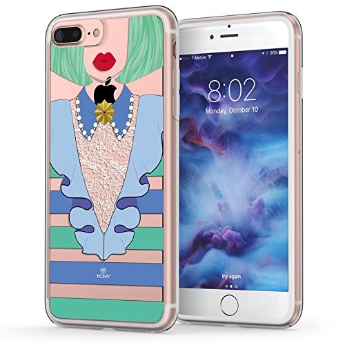 color mujer traje 7 funda de plus de iphone para xWczqwq7ap