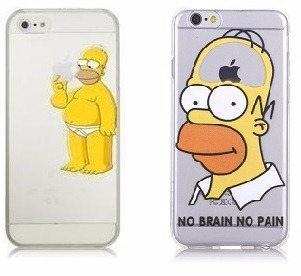 Funda carcasa de homero simpson para iphone 6 6 plus en mercado libre - Fundas iphone 5 divertidas ...