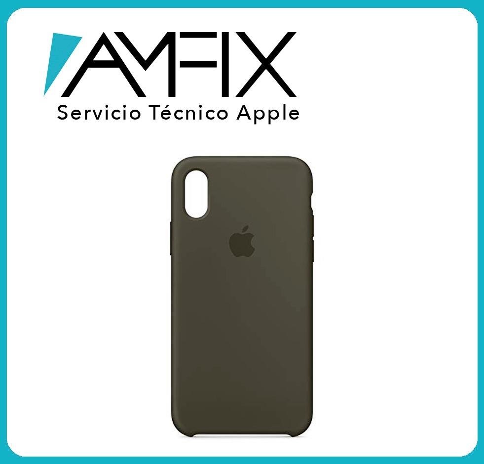 cbd98a07ba7 Funda De Silicona Verde Oliva Para iPhone X - $ 25.000 en Mercado Libre