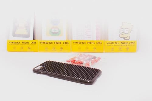 funda para iphone de mini blocks