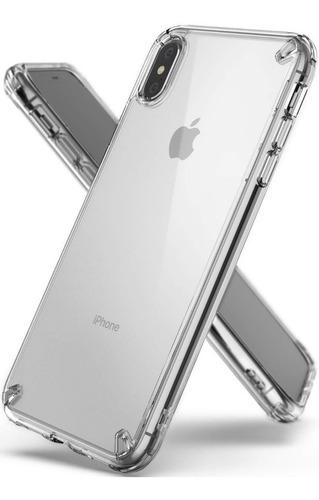 funda para iphone xs max ringke anti golpes + vidrio