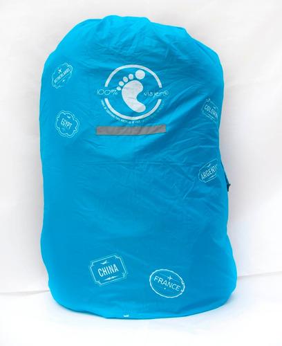 funda para mochilas cobertor de seguridad anti robo y lluvia