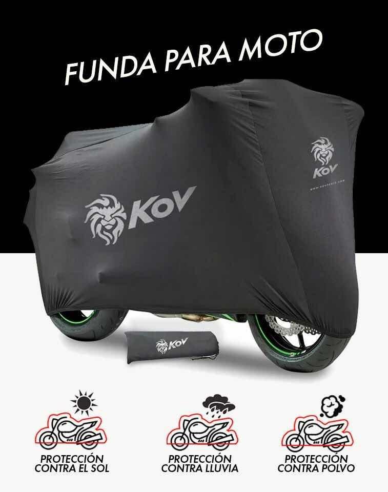 028a52b78a9 funda para motocicleta impermeable y protección en mofle. Cargando zoom.