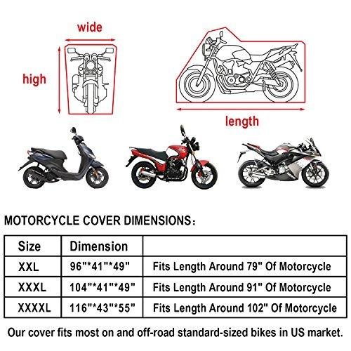 funda para motocicleta  todas las estaciones impermeable pro