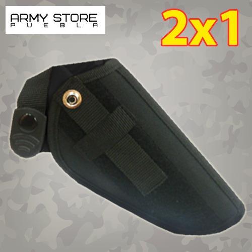 funda para pistola negra p/escuadra 2x1 envio gratis¡