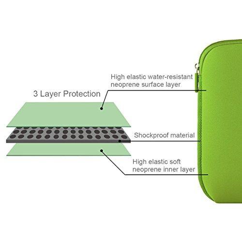 funda para portátil 13.3 pulgadas en neopreno color verde