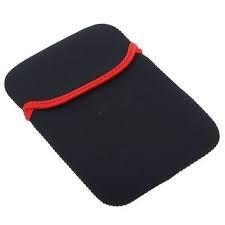 funda para portatil de 14  neopreno doble faz roja y negra