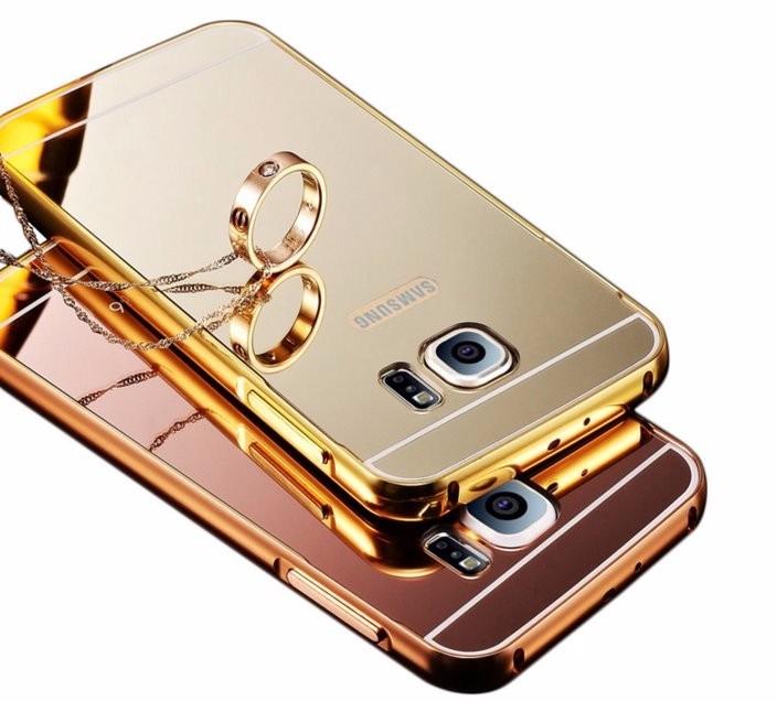 656b29c0936 Funda Para Samsung Galaxy S7 Funda Espejo De Lujo - $ 109.00 en ...