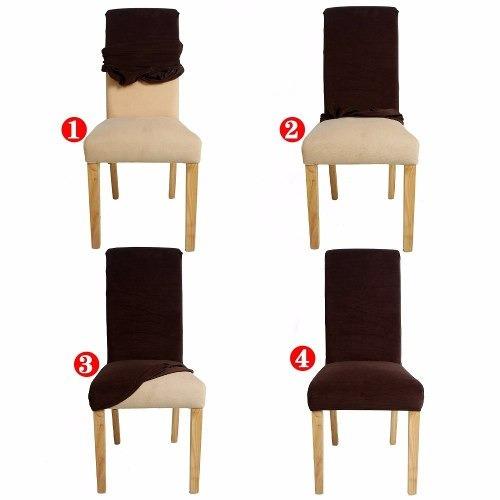 funda para silla elastizada x 4