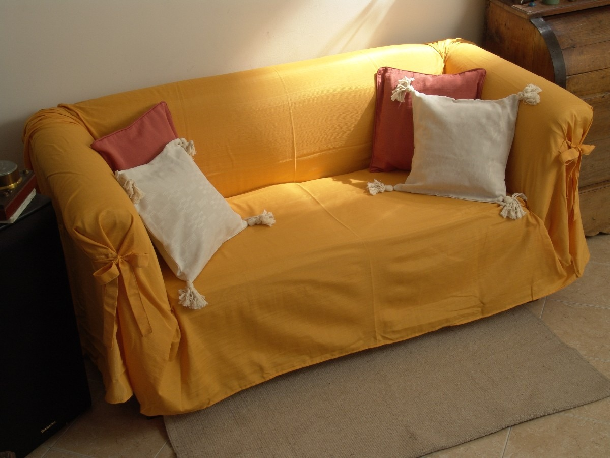Como hacer funda para sofa fabulous como hacer funda para - Sillones con fundas ...