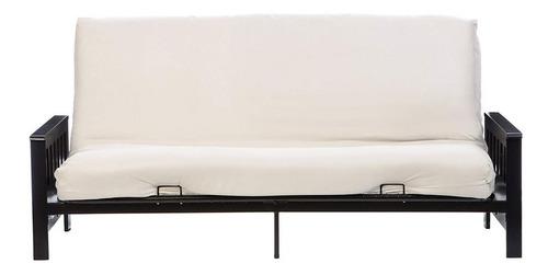 funda para sillón futón de 3 cuerpos en tela bull o rústica