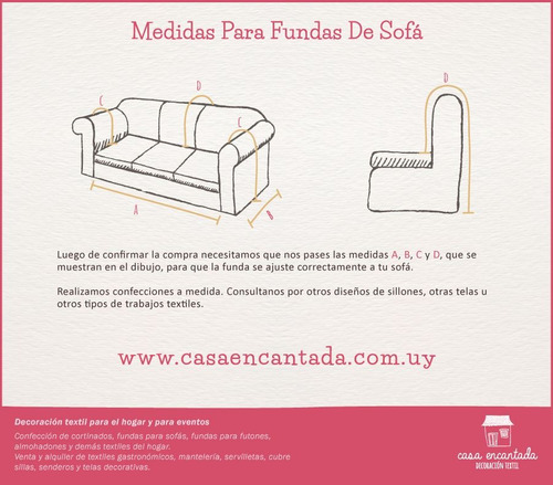 funda para sofá 2 y 3 cuerpos en tela bull o rústica