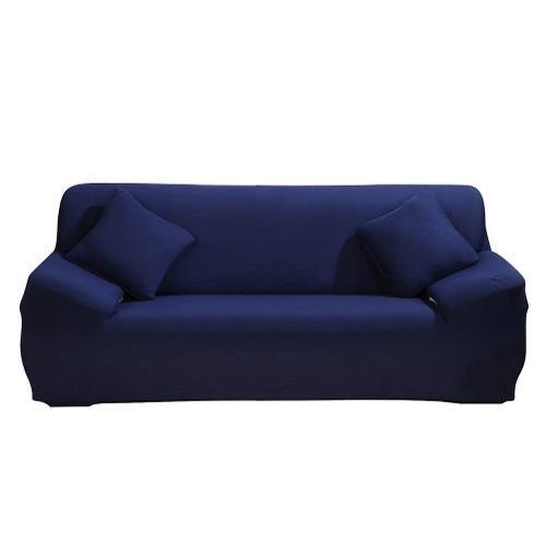 Funda Para Sofa De 3 Plazas Azul Rey