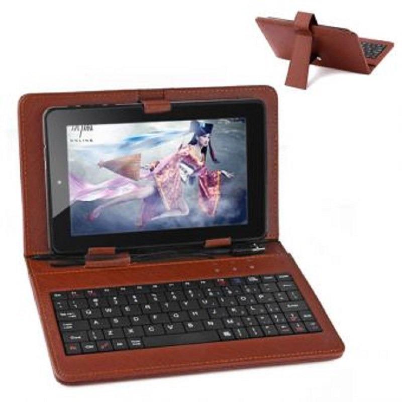 Funda con teclado usb para tablet 7 pulgadas s 23 00 en mercado libre - Funda tablet con teclado 7 ...