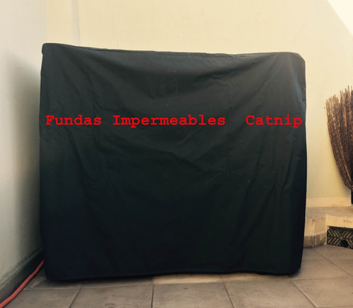 funda parrilla tambor chulengo 100% impermeable tela con pvc