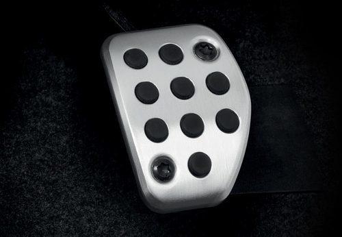funda pedal aluminio