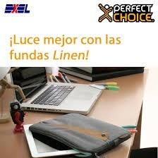 funda perfect choice linen messenger para tablet 10
