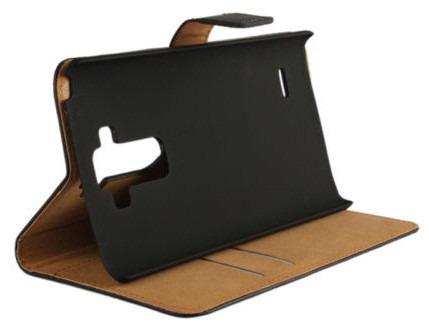 funda piel camel flip lg g4 stylus con tarjetero