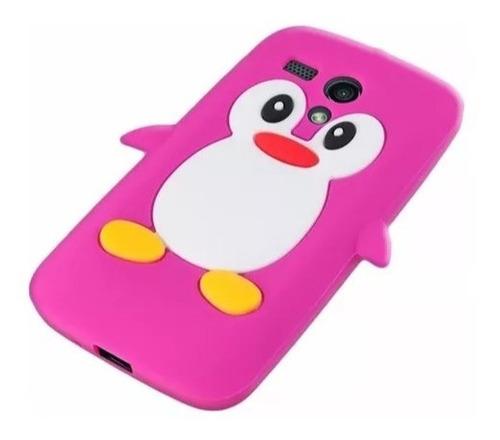 funda pingüino silicona nokia lumia 630