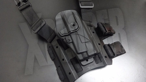 funda pistolera táctica rescue nivel 2 bersa thunder pro