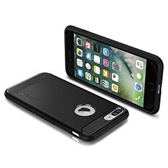 funda plus spigen robusta armadura iphone 7 con absorción d