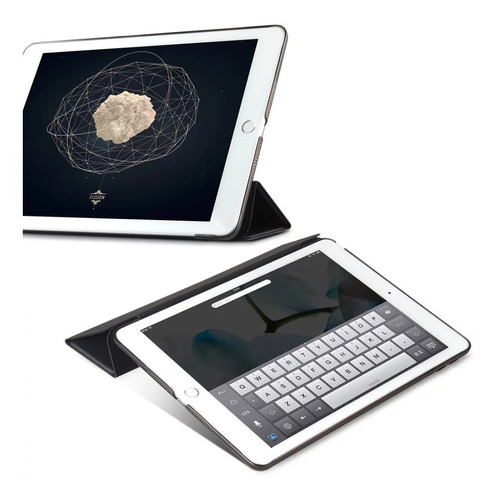funda premium ipad mini 1 2 3 4 5 smart + carcasa + lápiz