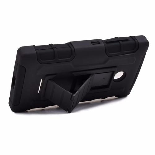 funda protector 3 en 1 uso rudo case resistente htc 530
