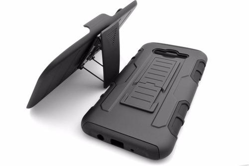 funda protector 3 en 1 uso rudo resisten samsung j7 2016 710
