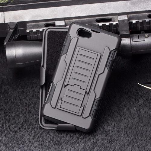 funda protector 3 en 1 uso rudo resistente sony m5 e5606