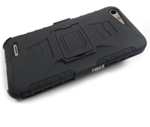 funda protector 3 en1 uso rudo case resistente zte blade v6