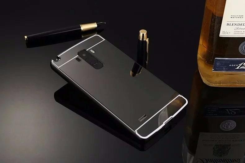 0b70c8db121 Funda Protector Aluminio Case Tipo Espejo Lg G4 Stylus H542 ...