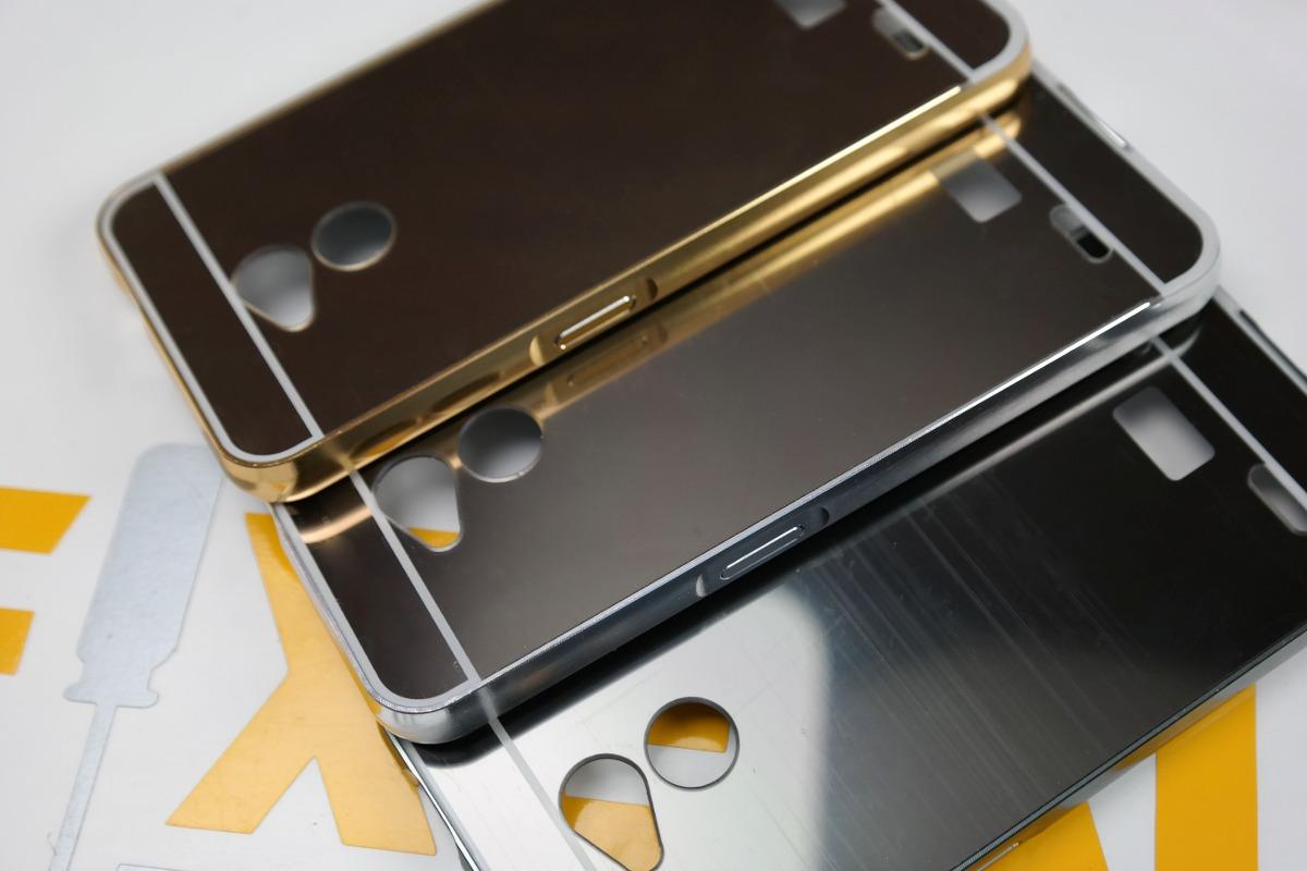 Funda protector aluminio espejo cristal templado zte v6 en mercado libre - Aluminio espejo ...