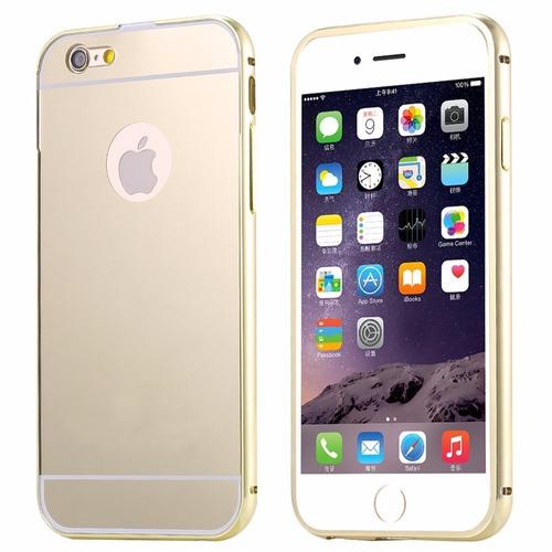 funda protector bumper aluminio case tipo espejo iphone 5