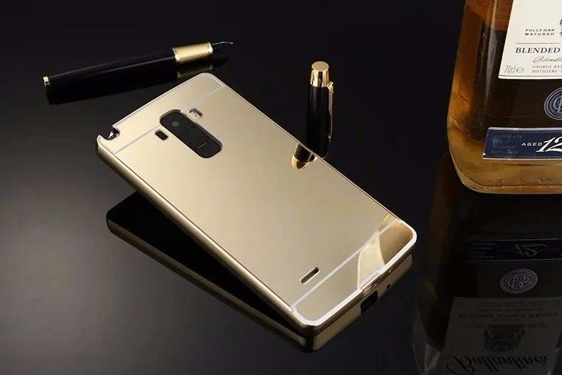 16c1718da80 Funda Protector Case Aluminio Tipo Espejo Lg G4 Stylus H542 ...