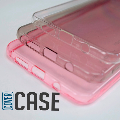 funda protector case flexible lenovo k5 + cristal